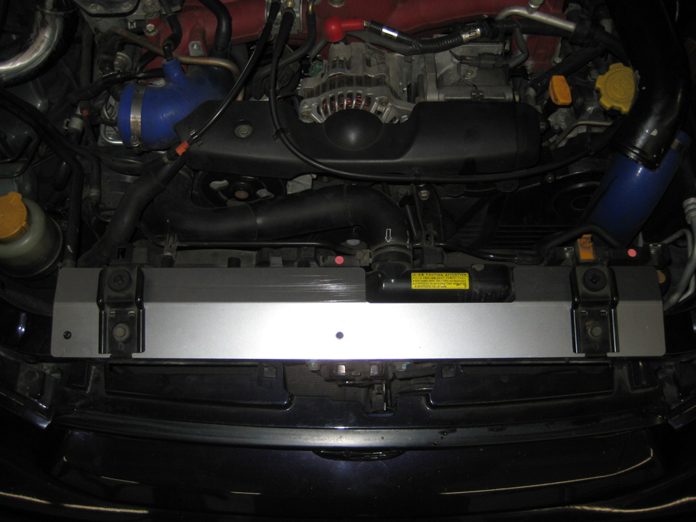 (02-07) Impreza - Radiator Shroud (Brushed)