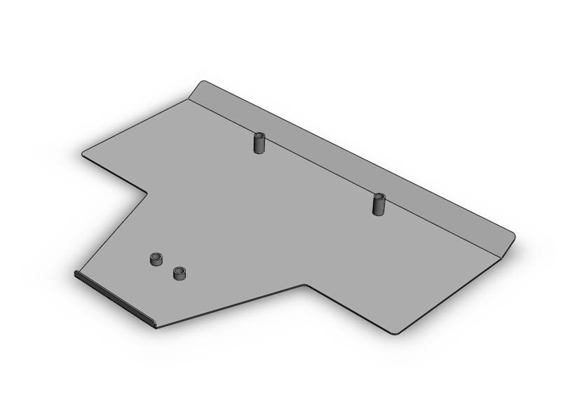 (03-08) Forester NA - Skid Plate (Heavy Duty)