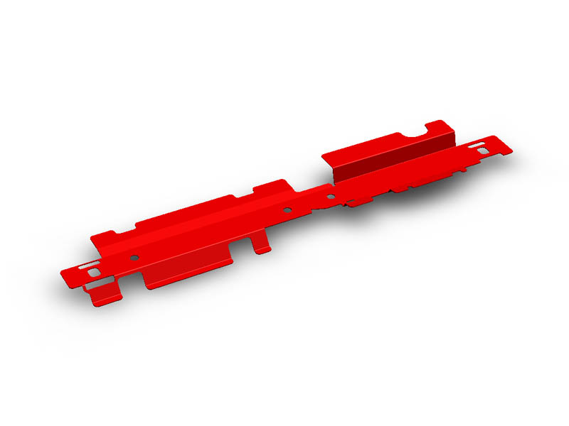 (05-09) Outback - Radiator Shroud (Red)