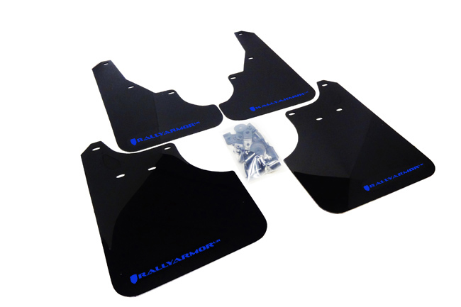 (09-13) Forester - Rally Armor - UR Mudflaps (Black/Blue)