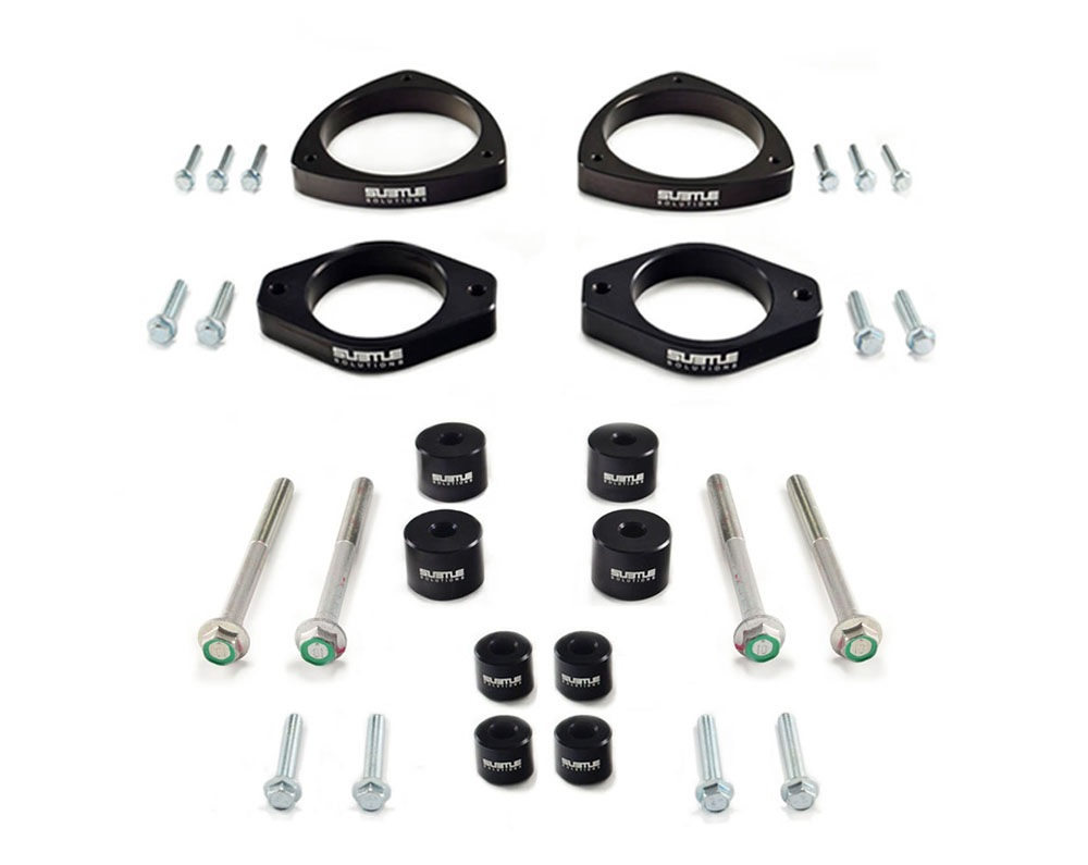 "(12-16) Impreza - 1.5"" Front / 2.0"" Rear Lift Kit (Alum) + 2"" RA"