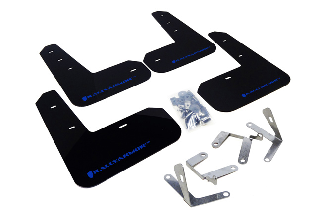 (13-17) BRZ/FRS - Rally Armor - UR Mudflaps (Black/Blue)