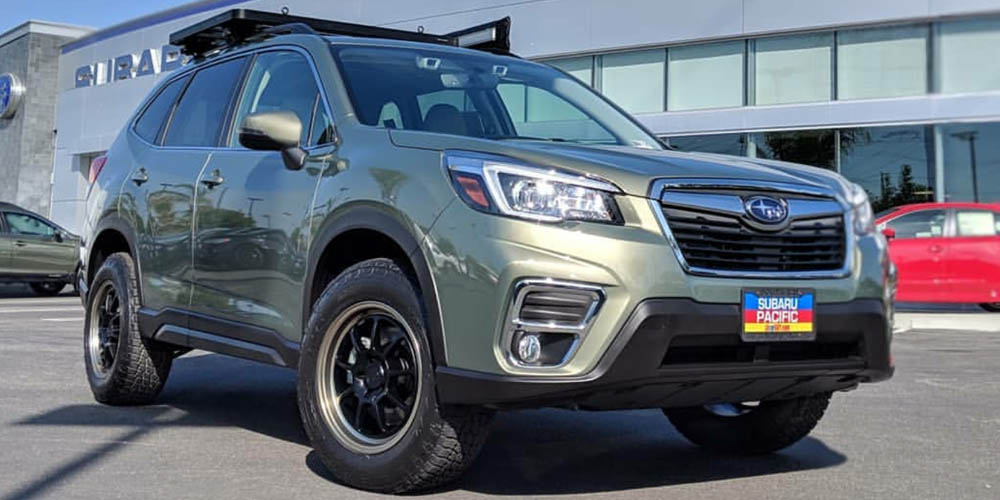 2019 Lifted Subaru Forester - 3