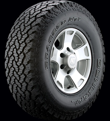 "General - 205/75/15 (27.1"") Grabber AT2 (single tire)"