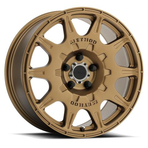 Method - 502 Rally (Bronze) 17x8 et38 - 5x100