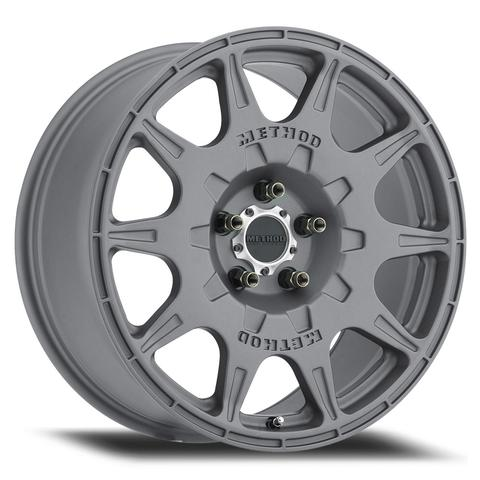 Method - 502 Rally (Titanium) 17x8 et38 - 5x100