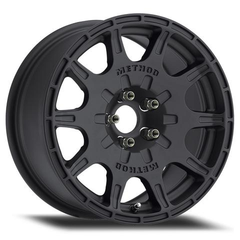 Method - 502 VT-Spec (Matte Black) 15x7 et15 - 5x114.3