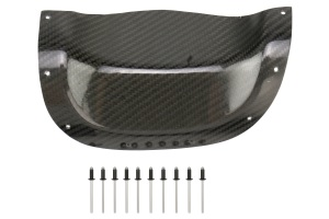 (03-08) Forester - Exhaust Heatshield (Carbon Fiber) w/ Rivets