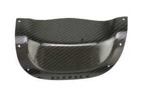 (03-08) Forester - Exhaust Heatshield (Carbon Fiber) w/o Rivets