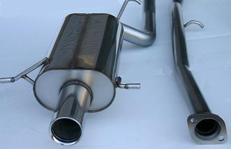 "(04-08) Forester XT - Stromung 3"" Cat Back Exhaust"