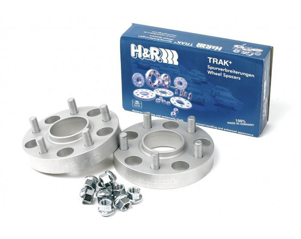H&R - DRM Wheel Spacers - 20mm (Black) - 5x100
