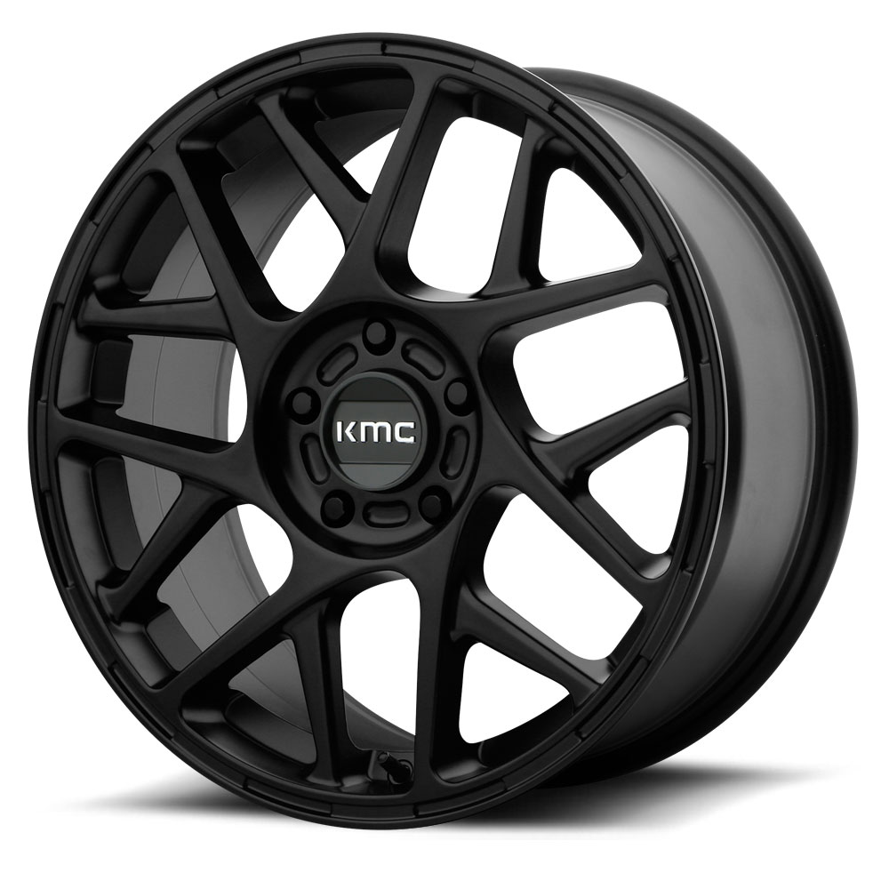 KMC - KM708 Bully (Satin Black) 15x7 et10 - 5x100