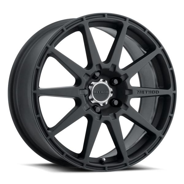 Method - 501 Rally (Matte Black) 17x8 et42 - 5x114.3