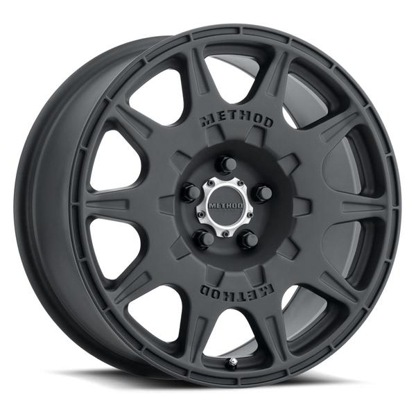 Method - 502 Rally (Matte Black) 17x8 et38 - 5x114.3