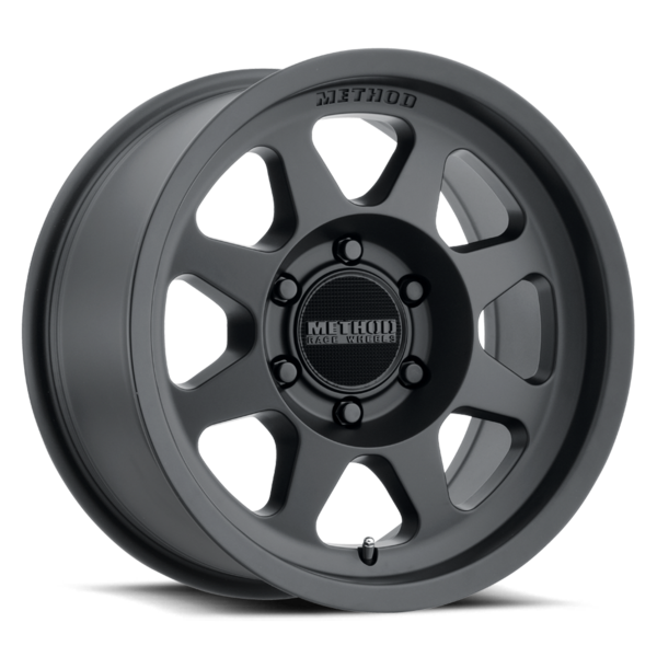Method - 701 (Matte Black) 15x7 et15 - 5x100
