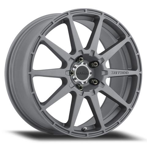 Method - 501 Rally (Titanium) 17x8 et42 - 5x100