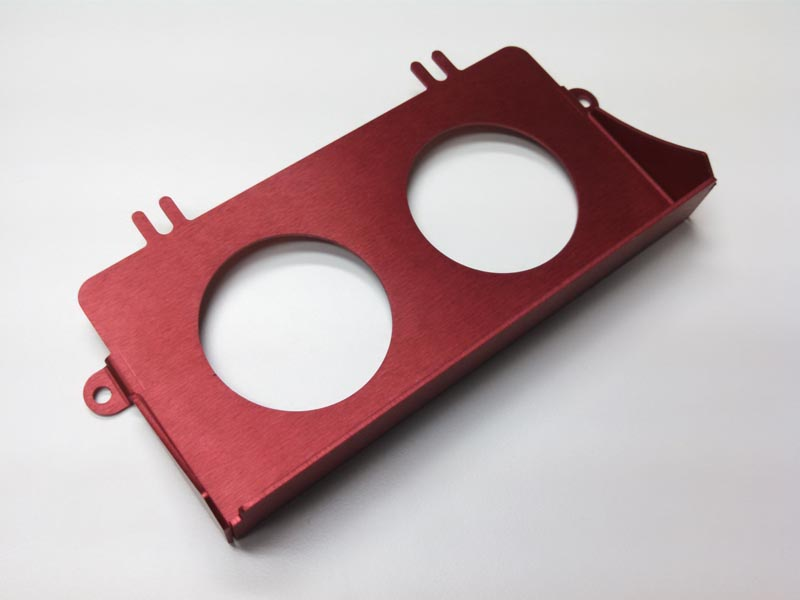 (05-07) Impreza - Ashtray Gauge Bezel w/ (2) 52mm (Red)