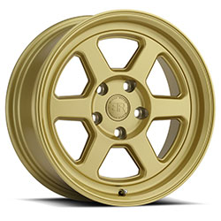 Black Rhino - Rumble 17x8 et35 (Gold) - 5x114.3