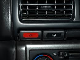 (98-02) SF5 JDM Forester - Hazard Button (Red)