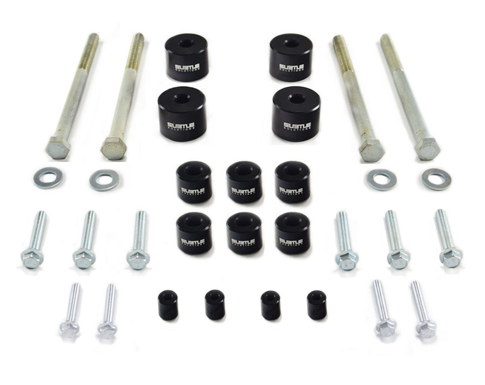 "(14-18) Forester XT - 2"" Rear Alignment Kit (Black)"