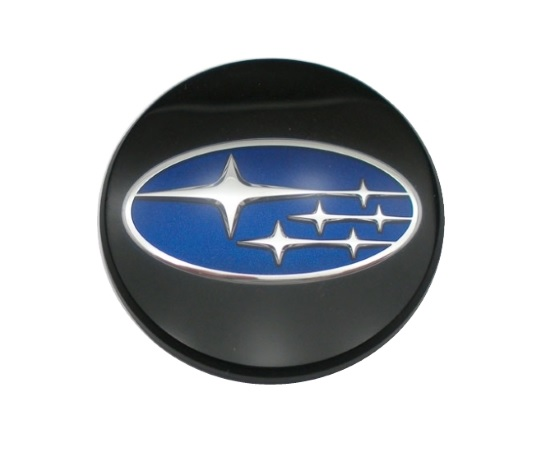 Center Caps (Plastic) - Subaru Blue Logo (4pc Set)