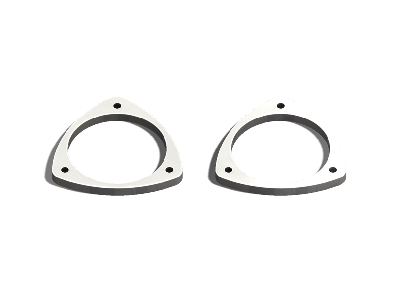 "(93-07) Impreza - 1/4"" Nose Dive Spacers (HDPE)"