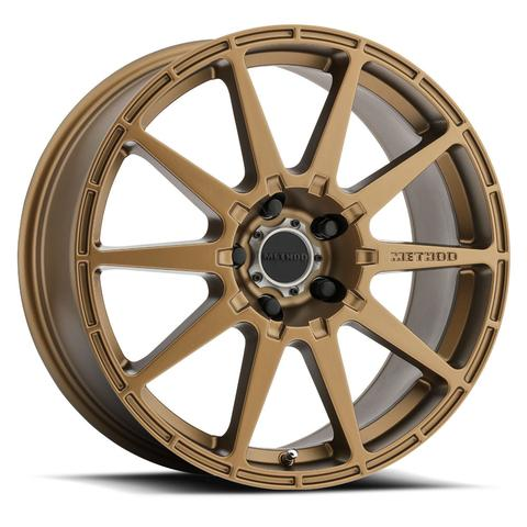 Method - 501 Rally (Bronze) 17x8 et42 - 5x100