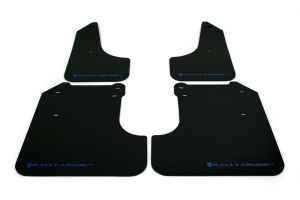 (08-10) WRX - Rally Armor - UR Mudflaps (Black/Blue)