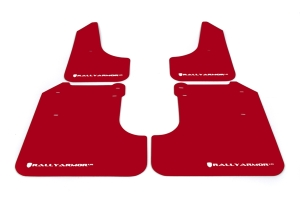(08-10) WRX - Rally Armor - UR Mudflaps (Red/White)